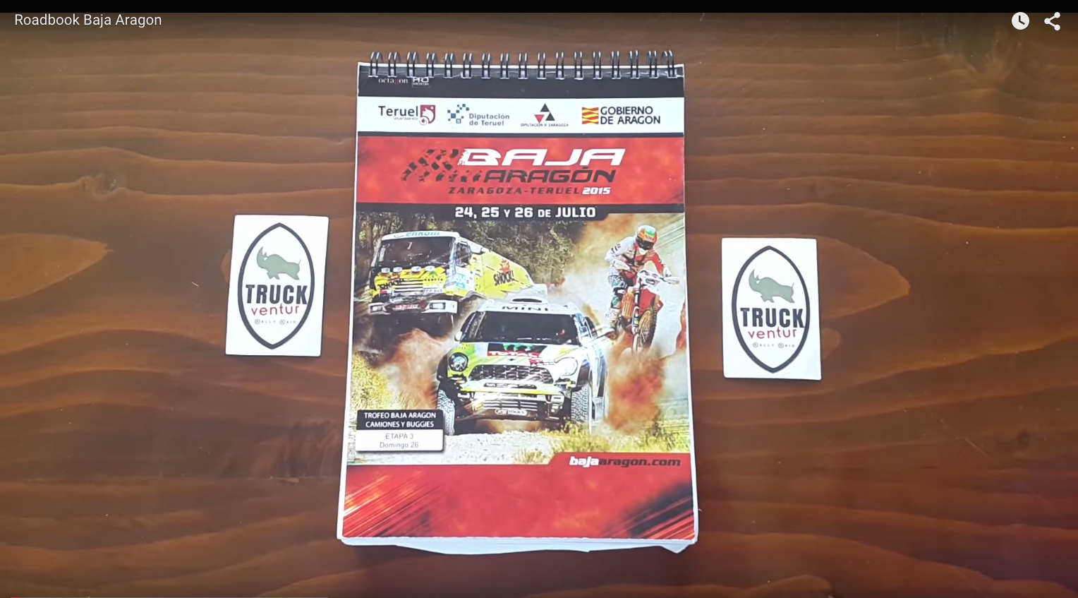 Roadbook Baja Aragon
