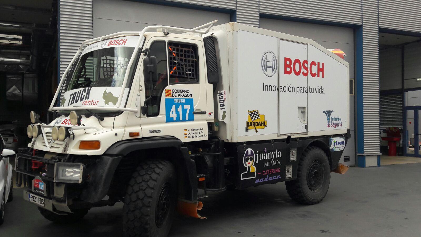Truckventur visita las instalaciones BOSCH
